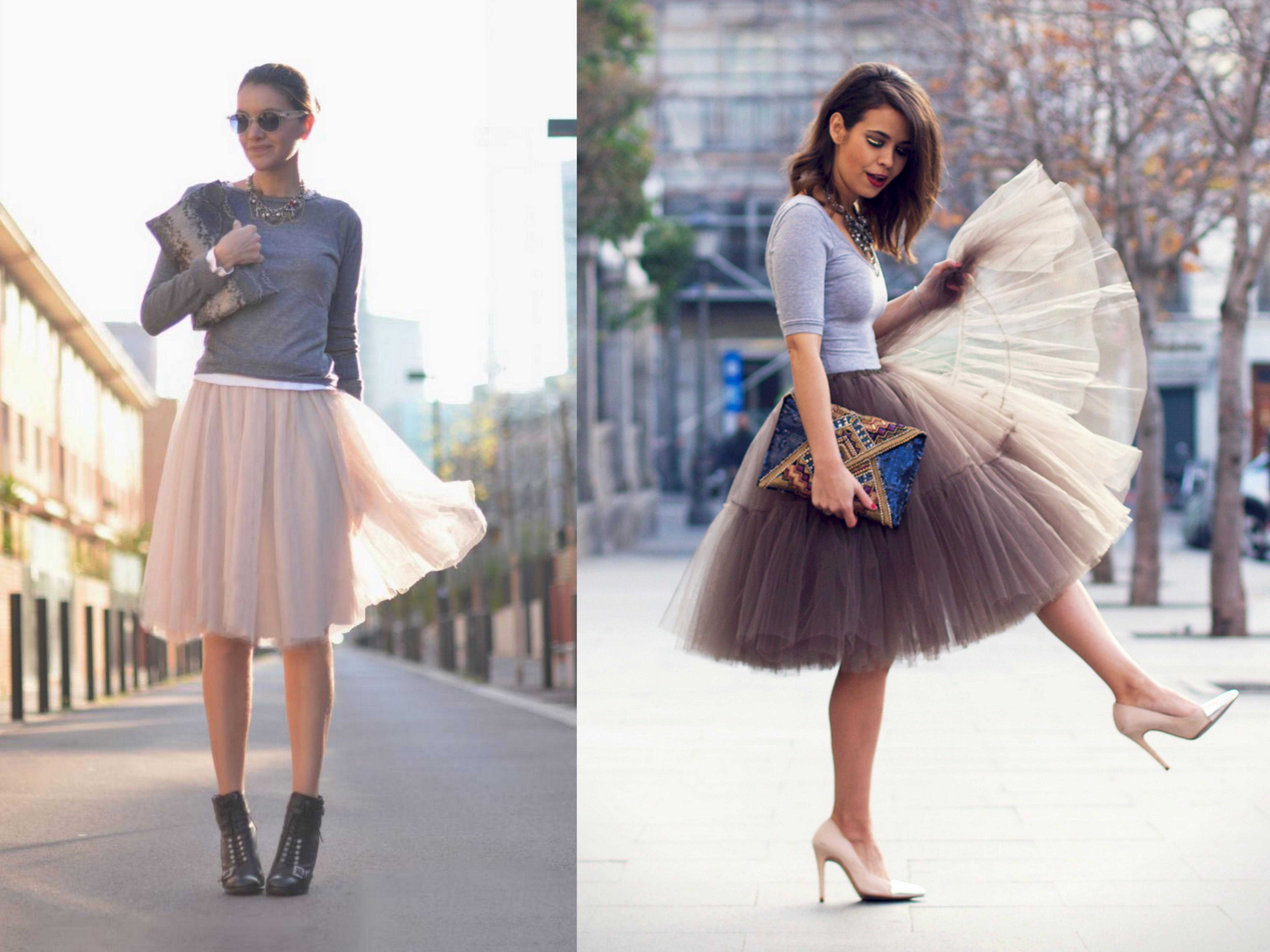 de7f2448f1bb2 Conviértete en una princesa con las faldas de tul - Mucha más Moda ...
