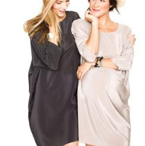 Saca tu lado más femenino con los vestidos de premamá