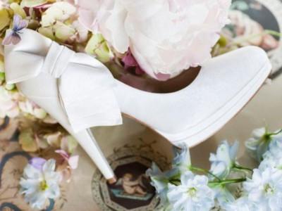 La colección de zapatos de la marca de moda nupcial Pronovias