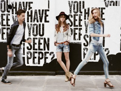 ¿Dónde está Pepe? La divertida campaña de Pepe Jeans