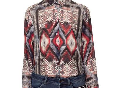 La nueva colección de blusas en Zara
