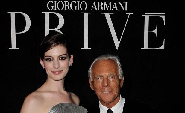 Armani, nombre imprescindible en el mundo de la moda
