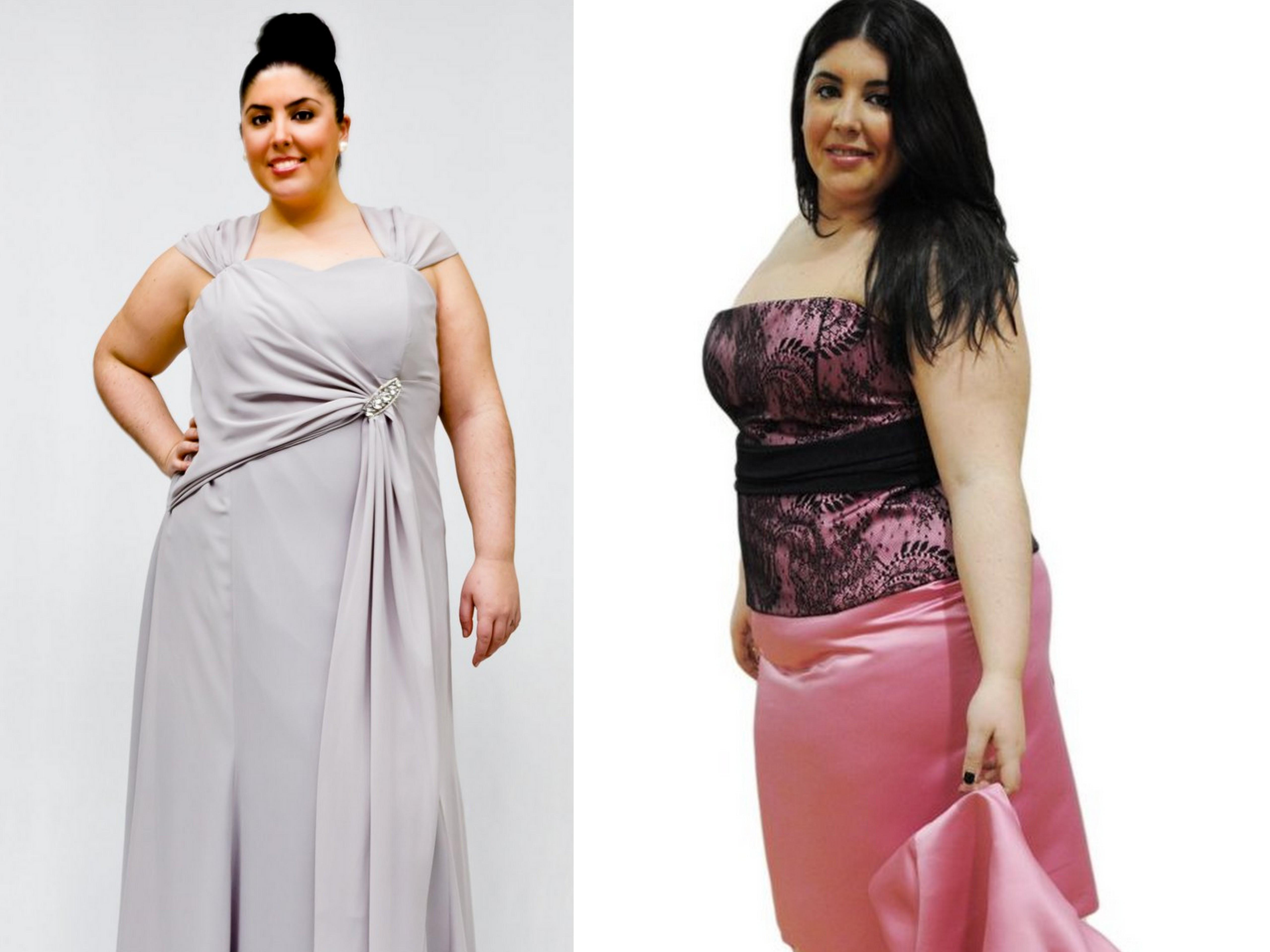 4581abbd Vestidos de fiesta en tallas grandes - Mucha más Moda | Mucha más Moda