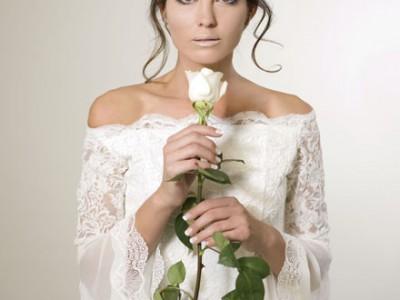Los vestidos de novia de inspiración flamenca de Aurora Gaviño