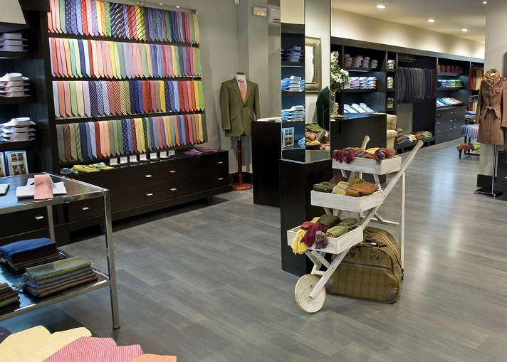 En cualquier tienda de corbatas te ayudarán a encontrar la que más encaja con tu estilo