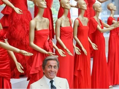 Valentino, el diseñador con estrella