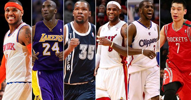 Las camisetas de la NBA más de moda
