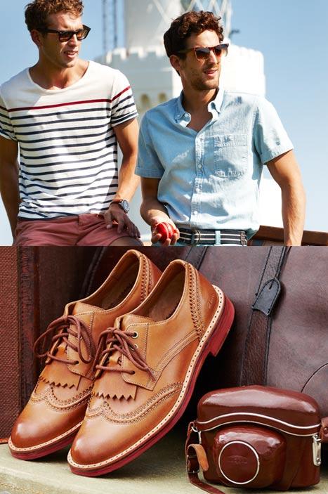 La interesante propuesta de Clarks en zapatos de moda para hombre