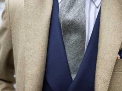 Apura el invierno con las corbatas de lana