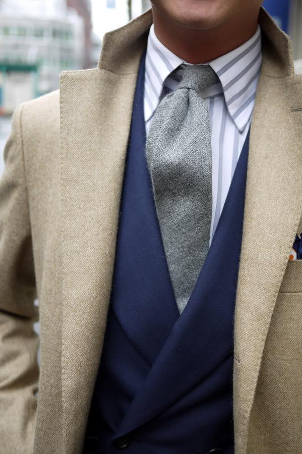 Adéntrate en el mundo de sensaciones de las corbatas de lana