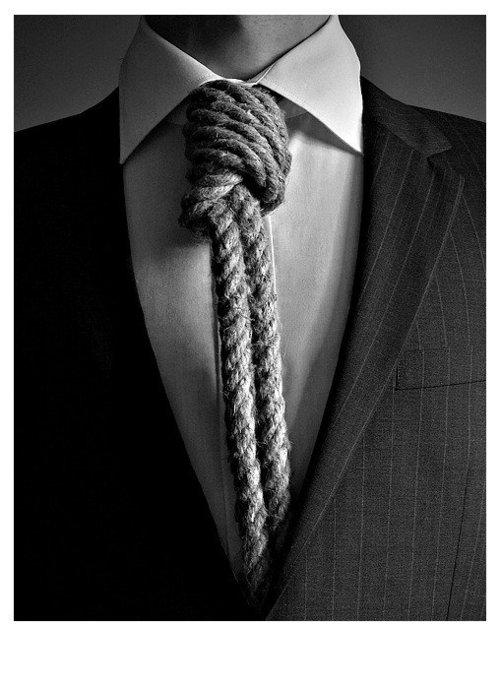 No te desesperes con los nudos de corbata