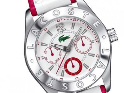 Lacoste también se atreve con el diseño de relojes
