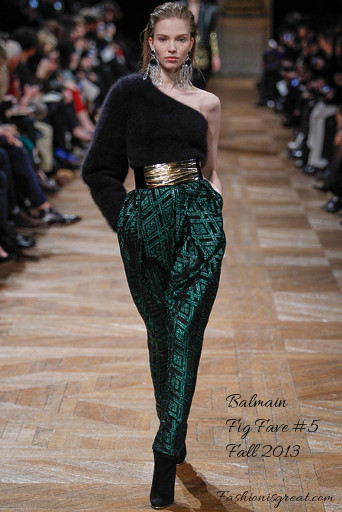 Balmain llega a la Paris Fashion Week
