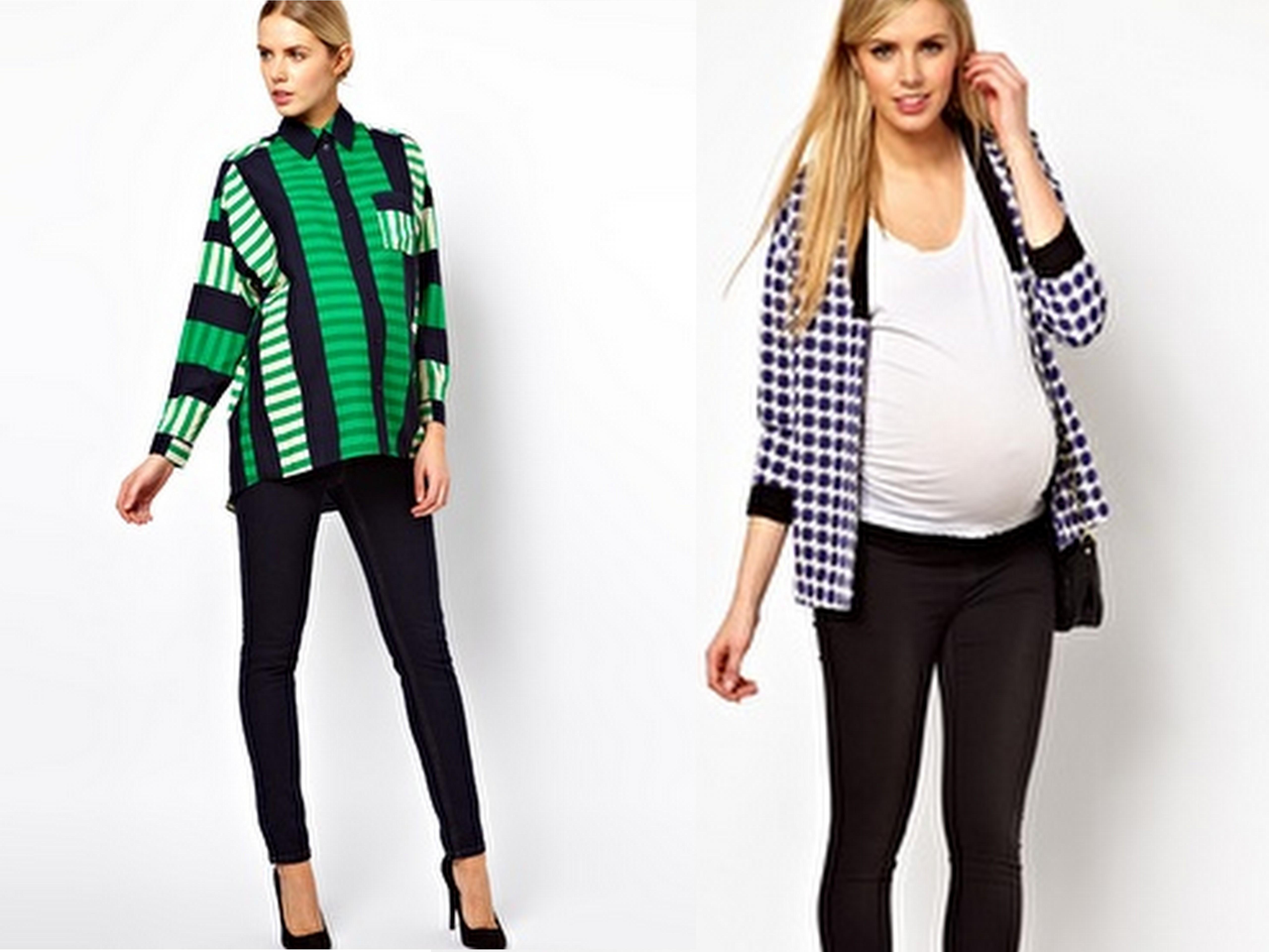 958dcb696 ASOS inunda de tendencias el armario de las embarazadas - Mucha más ...