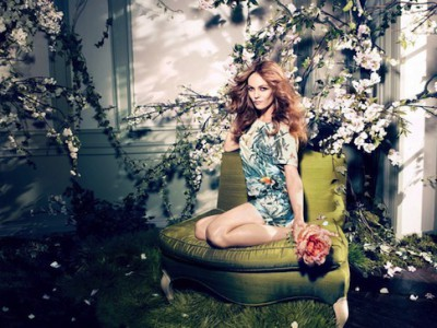 Vanessa Paradis, la nueva cara de la colección ecológica y sostenible de H&M