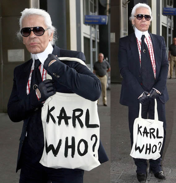 Lagerfeld excentrico