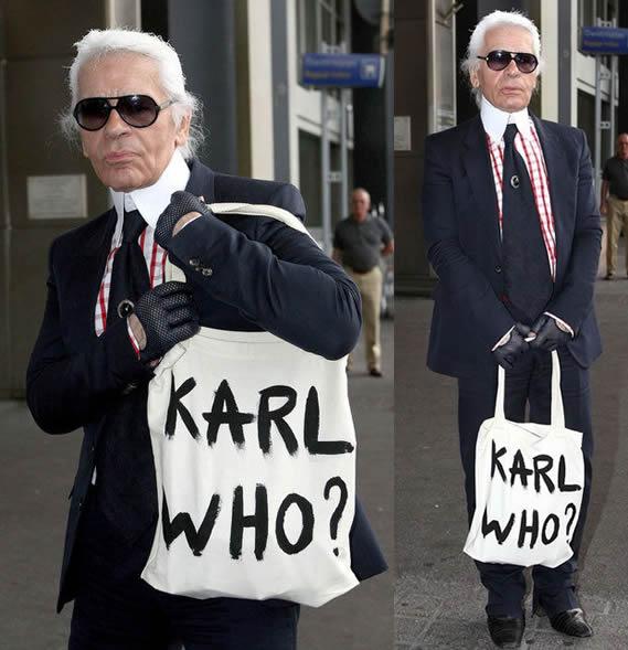Lagerfeld, diseñador excéntrico y provocador