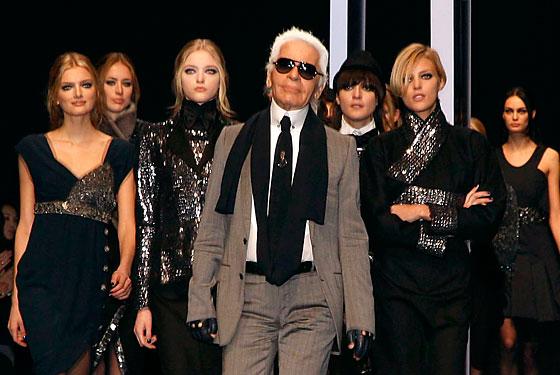 Lagerfeld, el rey alemán de la moda