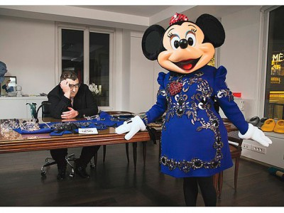 Minnie se viste de Lanvin