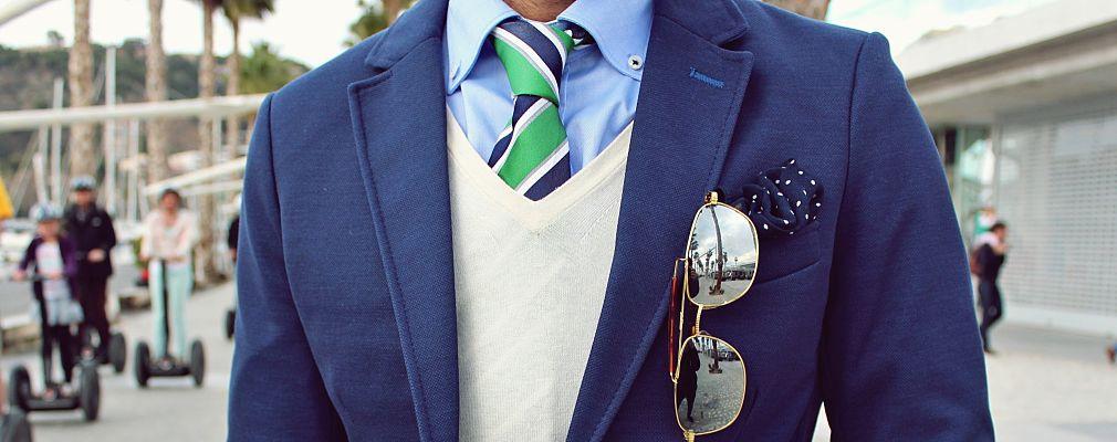 cómo elegir una corbata portada