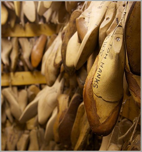 El calzado inglés, zapatos de alta calidad