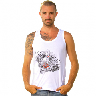 Las camisetas sin mangas para hombre vuelven a estar de moda