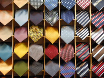 Las corbatas de seda son muy delicadas y requieren de cuidados especiales