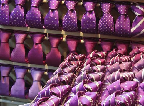 Cómo cuidar tus corbatas