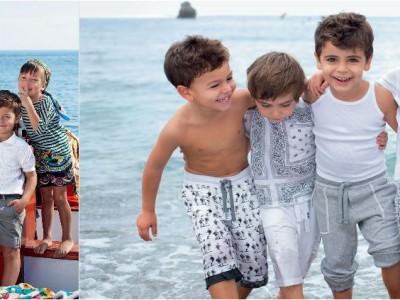 Inspiración italiana en la colección para niños de Dolce&Gabbana