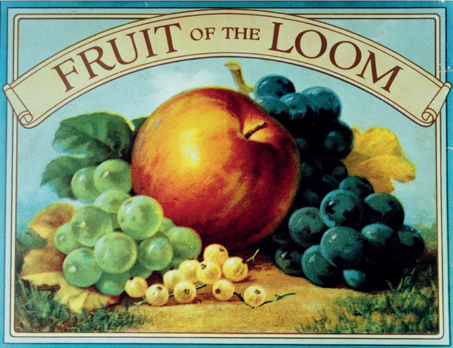Fruit of the Loom, más de 160 años vistiendo a personas de todo el mundo