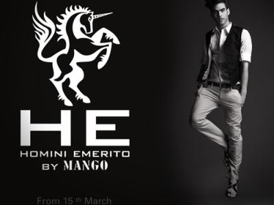 H. E. by Mango, moda para hombres