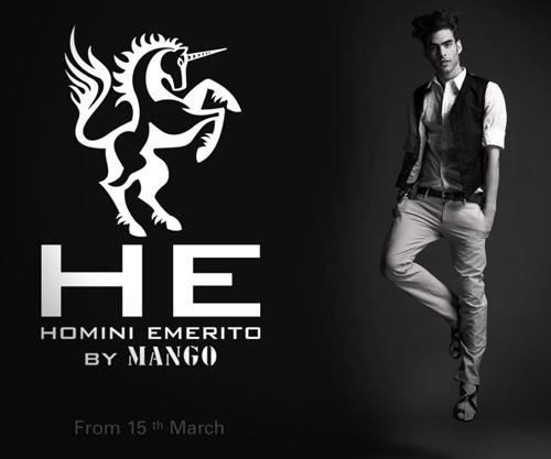 H. E. by Mango, colecciónd e moda para hombres