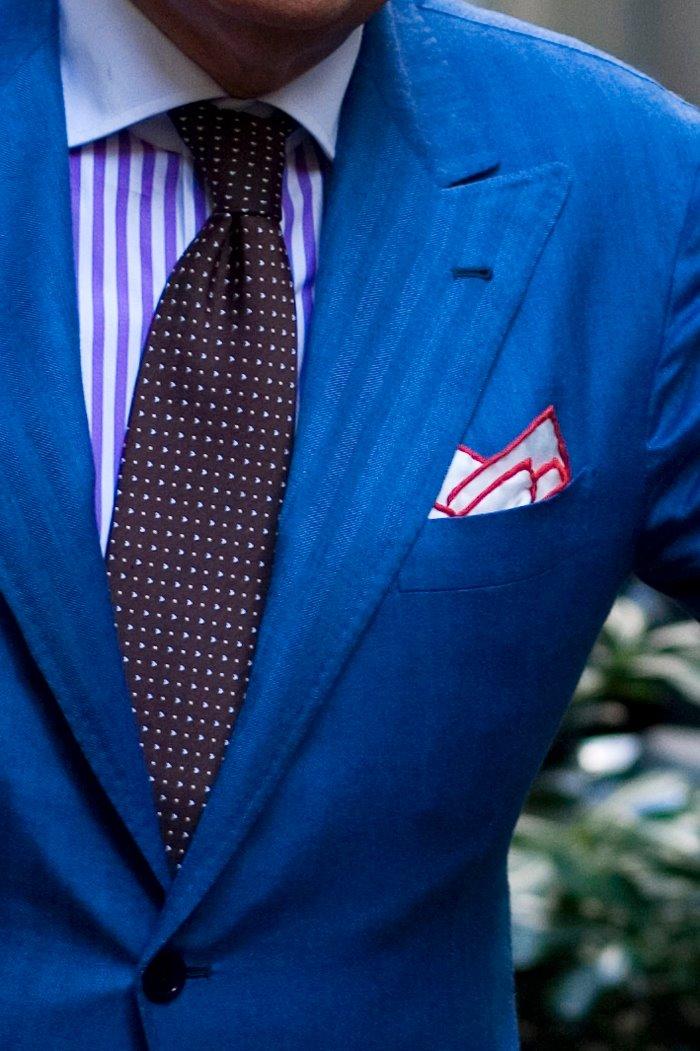 Los nuevos complementos de moda: los pañuelos de bolsillo