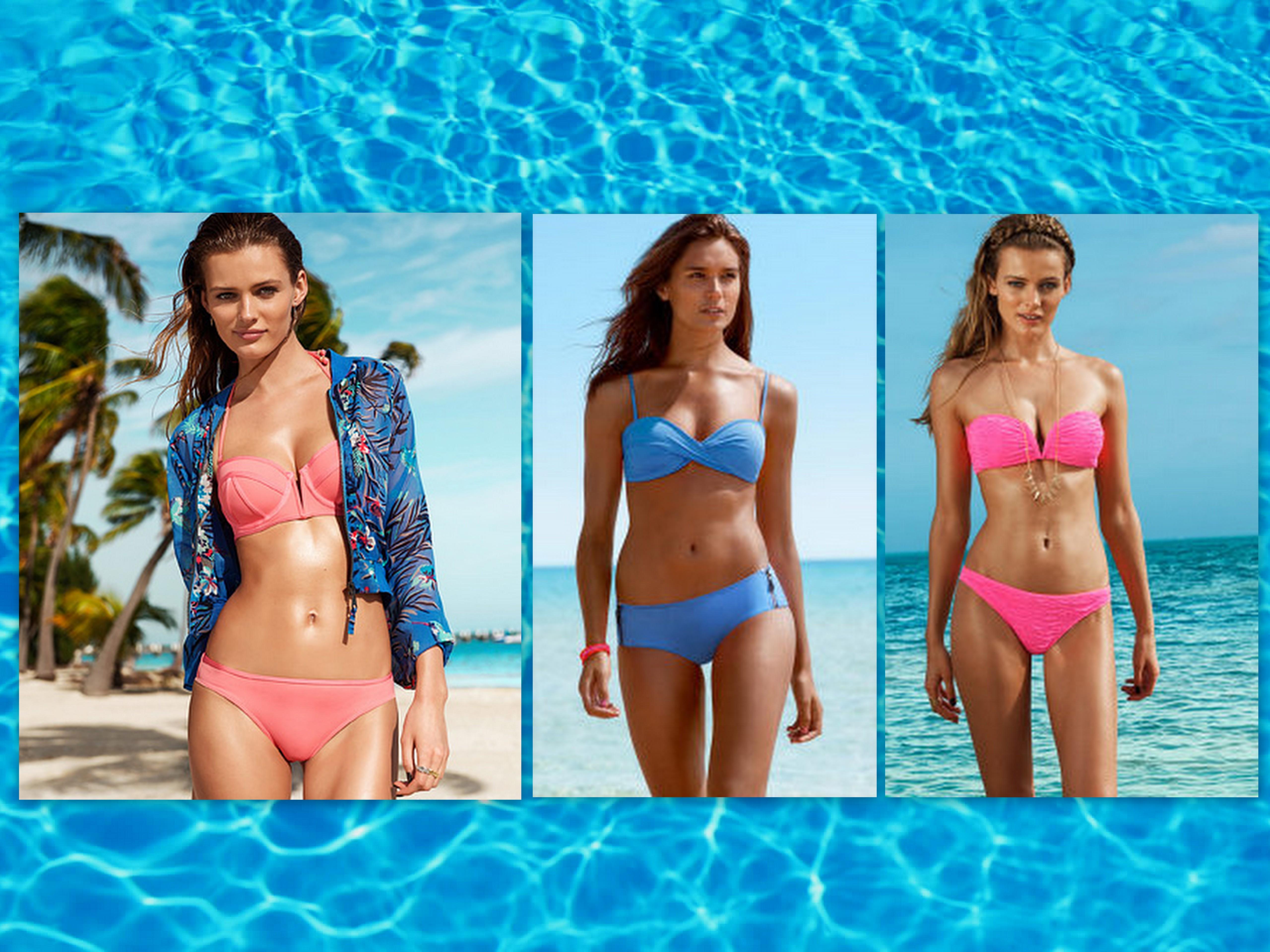 Tipo de bronceado de la comunidad de bikini playa