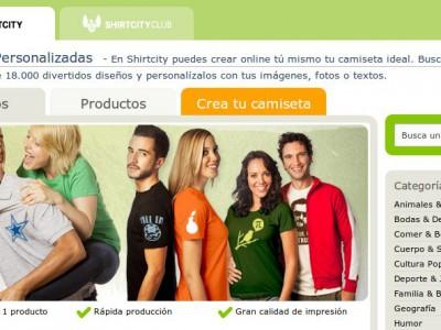 Crea tus camisetas personalizadas en Shirt City
