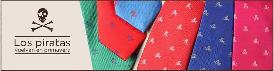 La nueva colección de corbatas Piratas de Cencibel
