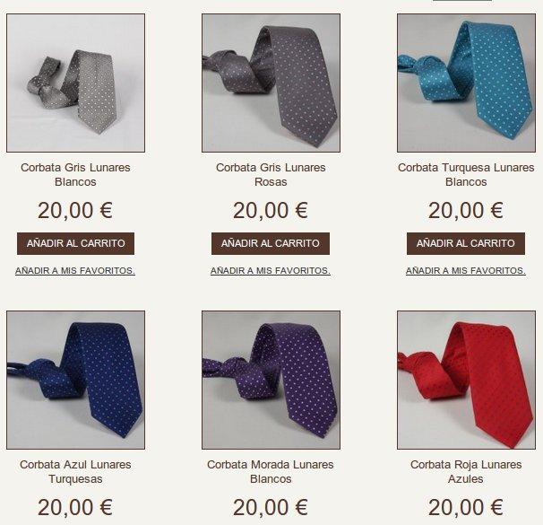 Comprar corbatas en Cenibel Smart Casual