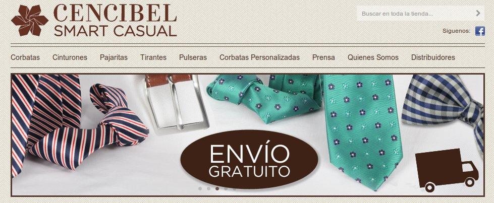 Corbatas y complementos de moda para hombre Cencibel