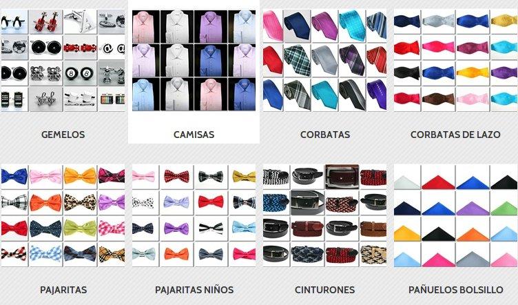 Pañuelos, camisas, gemelos y corbatas online en Eres Elegante