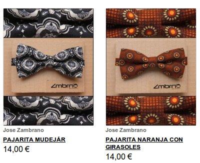 Pajaritas y corbatas online en Buylevard