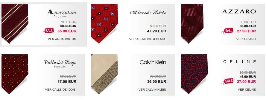 Corbatas online, exclusivas y rebajadas en eties