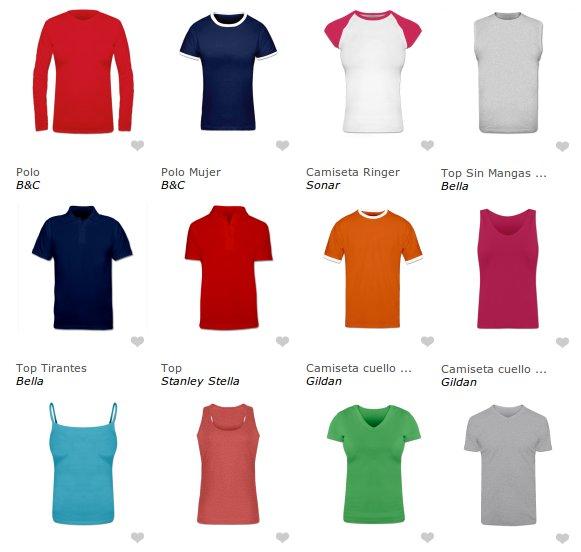 Elige tu camiseta personalizada