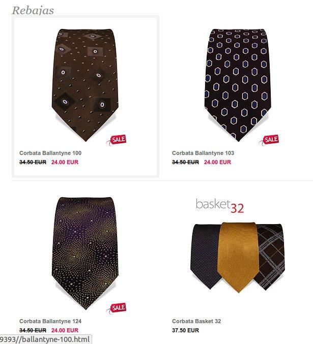 Corbatas para todos los gustos en eTies Store