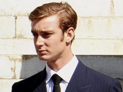 La corbata de Pierre Casiraghi: un It Boy principesco