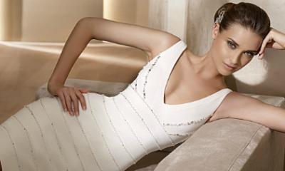 Las nuevas tendencias en moda nupcial, vestidos cortos