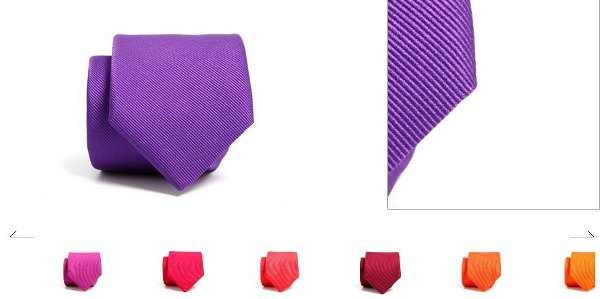 Corbatas lisas SOLOiO