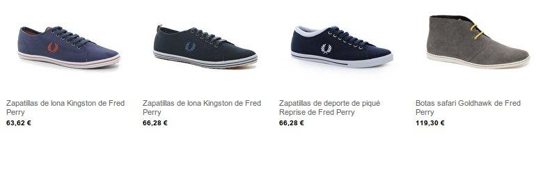 Calzado deportivo Fred Perry
