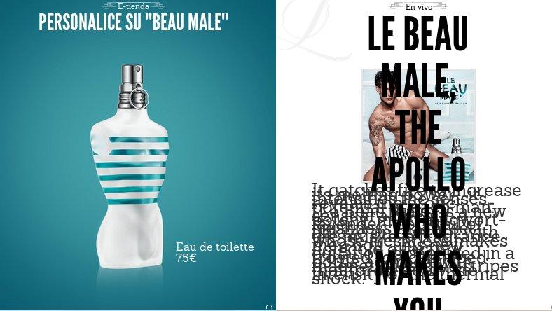 Los perfumes de Jean Paul Gaultier