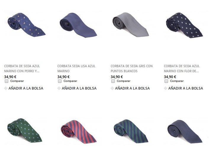 The Gentleman: corbatas tradicionales a precios muy interesantes