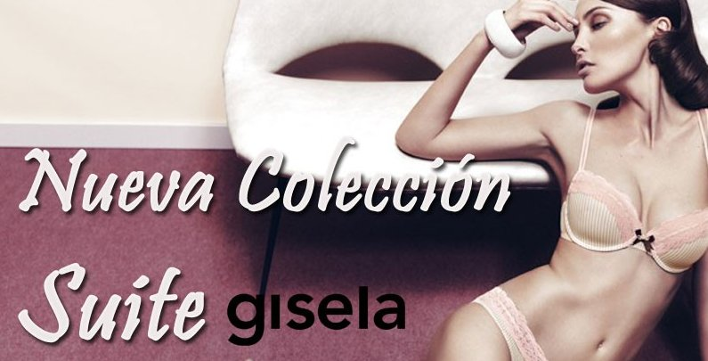 Suite Gisela, la nueva colección de lencería de Afrodita